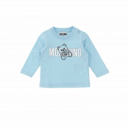Moschino blue long sleeved top