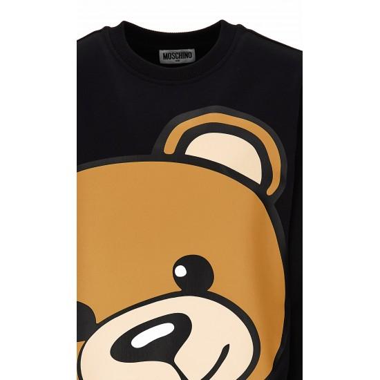 Moschino black teddy bear jumper