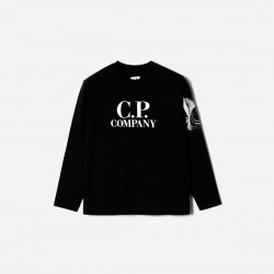 CP Company Black Long Sleeved Top