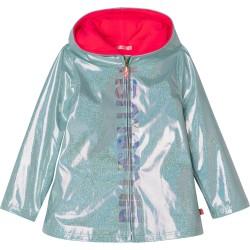 Billieblush mint green sparkle rain coat