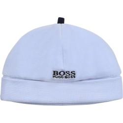 Hugo Boss pale blue pull on hat