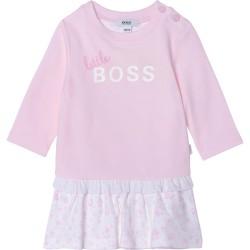 Hugo Boss pale pink dress
