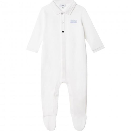 Hugo Boss white babygrow