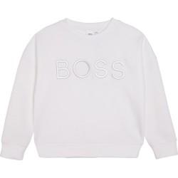 Hugo Boss white sweatshirt