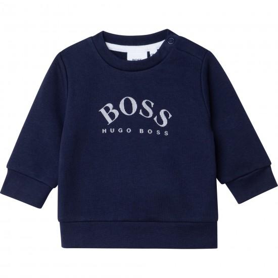 Hugo Boss navy blue sweatshirt
