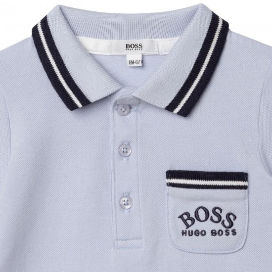 Hugo Boss pale blue all in one