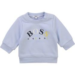 Hugo Boss pale blue sweatshirt