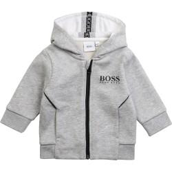 Hugo Boss grey cardigan
