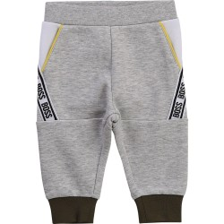 Hugo Boss chine grey joggers