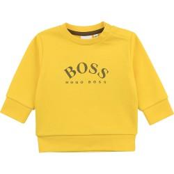 Hugo Boss yellow sweatshirt