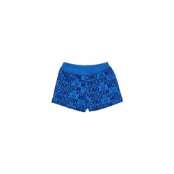 Moschino electric blue shorts