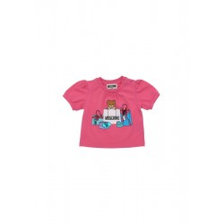 Moschino fuschia pink t-shirt