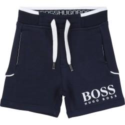 Hugo Boss navy blue shorts