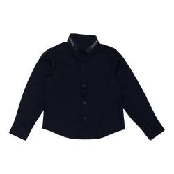 Emporio Armani navy blue shirt