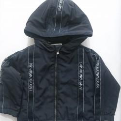 Emporio Armani Navy Blue Padded Jacket