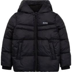Hugo Boss black puffer jacket