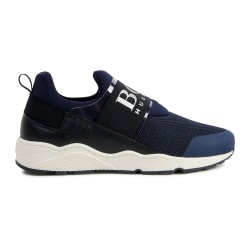 Hugo Boss navy trainers