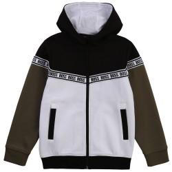 Hugo Boss hooded zip up top