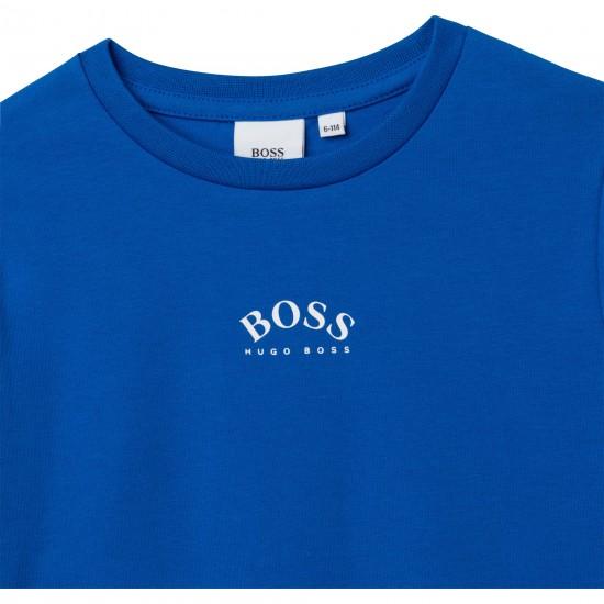 Hugo Boss electric blue t-shirt