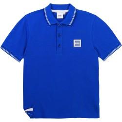Hugo Boss blue polo top
