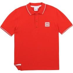 Hugo Boss red polo top