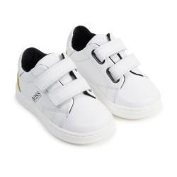 Hugo Boss white trainers