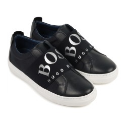 Hugo Boss navy limited edition trainers