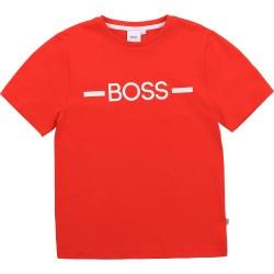 Hugo Boss bright red T-shirt