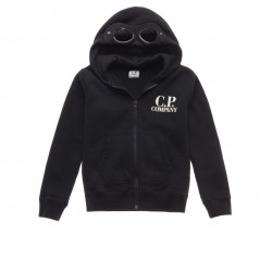 CP Company black hooded zip up top