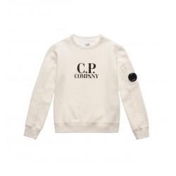 CP Company white sweatshirt
