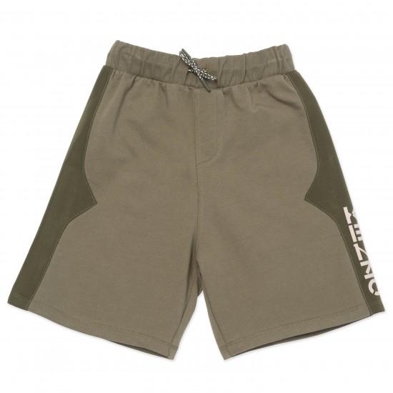 Kenzo khaki sweater shorts
