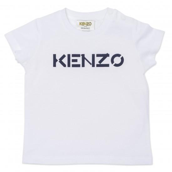Kenzo white/navy blue t-shirt