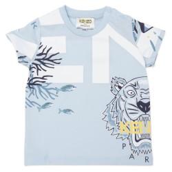 Kenzo pale blue t-shirt