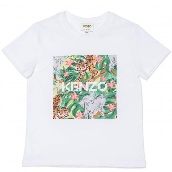 Kenzo white jungle t-shirt