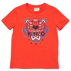 Kenzo red logo Tiger t-shirt
