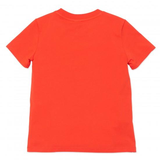 Kenzo red logo t-shirt