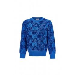 Moschino electric blue sweater