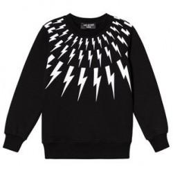 Neil Barrett Black Bolt Sweater