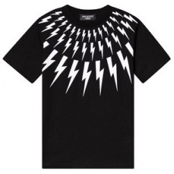 Neil Barrett Black bolt T-shirt