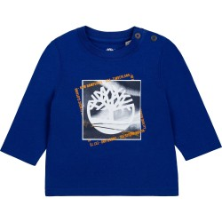 Timberland electric blue long sleeve t-shirt