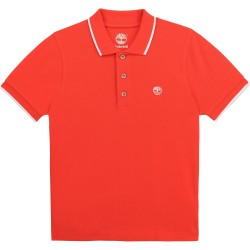 Timberland red polo top