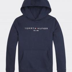 Tommy Hilfiger navy blue hooded sweatshirt
