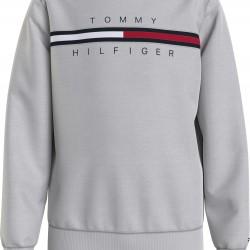 Tommy Hilfiger light grey sweatshirt