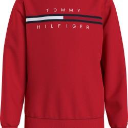 Tommy Hilfiger red sweatshirt