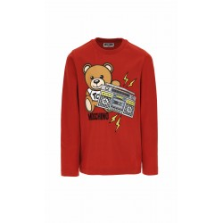 Moschino red long sleeved Top