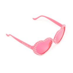 Billieblush pink heart sunglasses
