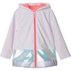 Billieblush white raincoat