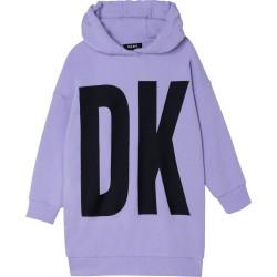 DKNY lilac hooded dress