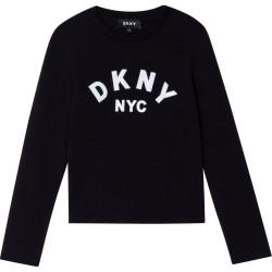 DKNY black long sleeve t-shirt