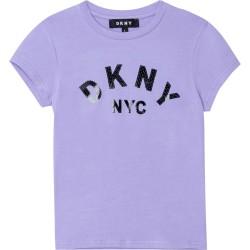 DKNY lilac t-shirt
